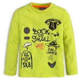 Chlapecké tričko CANGURO SKATEBOARD neon Velikost: 164
