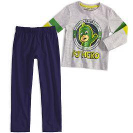 Chlapecké pyžamo PJ MASKS GEKKO šedé Velikost: 98
