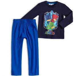 Chlapecké pyžamo PJ MASKS HERO TIME modré Velikost: 98