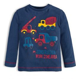 Chlapecké tričko KNOT SO BAD WORK tmavě modré Velikost: 62