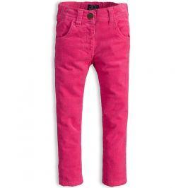 Dívčí manžestrové kalhoty MINOTI PINKY růžové Velikost: 92-98