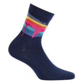 Chlapecké ponožky GATTA COLOURS tmavě modré Velikost: 33-35