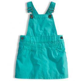 Dívčí sukně s laclem DIRKJE STYLE zelená Velikost: 92