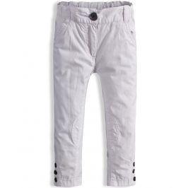 Dívčí plátěné kalhoty DIRKJE bílé Velikost: 92