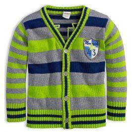 Chlapecký rozepínací svetr DIRKJE MAWERICK zelený Velikost: 92