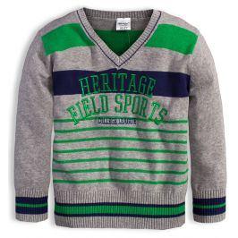 Chlapecký svetr DIRKJE HERITAGE šedý Velikost: 110