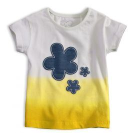 Dívčí tričko KNOT SO BAD FIORE žluté Velikost: 92