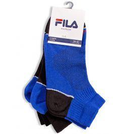 Sportovní ponožky FILA 3 páry modré Velikost: 39-42
