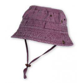 Dětský klobouk HAPPY KIDS fialový Velikost: 56 cm