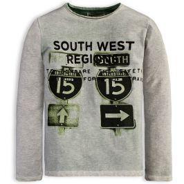 Chlapecké tričko DIRKJE DIVING zelené Velikost: 134
