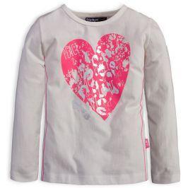 Dívčí tričko DIRKJE SHINE BRIGHT smetanové Velikost: 98