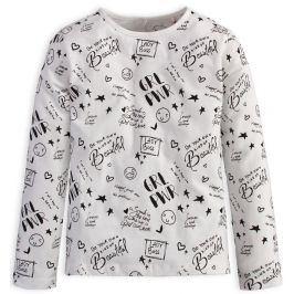 Dívčí tričko KNOT SO BAD GIRL POWER smetanové Velikost: 152