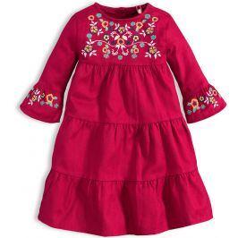 Dívčí šaty KNOT SO BAD BOHO vínové Velikost: 104