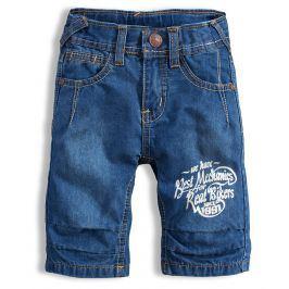 Chlapecké džínové bermudy KNOT SO BAD BIKERS modré Velikost: 104