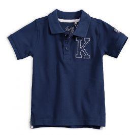 Chlapecké polo tričko KNOT SO BAD K tmavě modré Velikost: 92