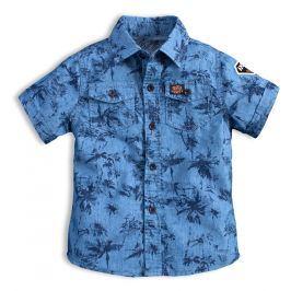 Chlapecká košile KNOT SO BAD AMAZING modrá Velikost: 92