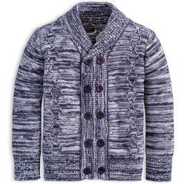 Chlapecký svetr DIRKJE HERALDIC modrý Velikost: 92