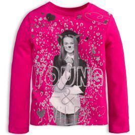 Dívčí tričko KNOT SO BAD YOUNG růžové Velikost: 92
