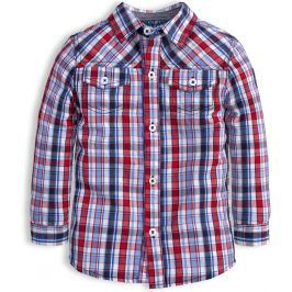 Chlapecká košile KNOT SO BAD EASY červená Velikost: 92