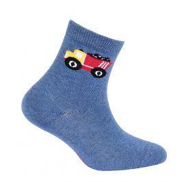 Chlapecké ponožky s obrázkem GATTA NÁKLAĎÁK modré Velikost: 24-26
