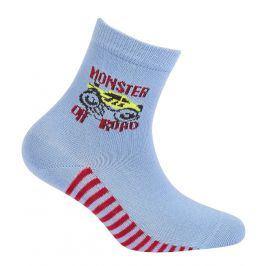 Chlapecké ponožky s obrázkem GATTA OFF ROAD světle modré Velikost: 24-26
