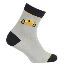 Chlapecké vzorované ponožky GATTA FORMULE šedé Velikost: 27-29