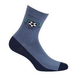 Chlapecké ponožky se vzorem GATTA GÓL modré Velikost: 33-35