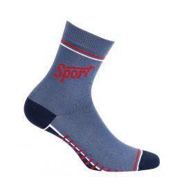 Chlapecké ponožky GATTA SPORT modré Velikost: 33-35