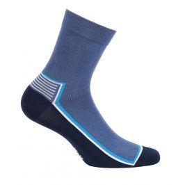 Chlapecké ponožky GATTA PROUŽEK modré Velikost: 33-35