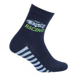 Chlapecké ponožky WOLA RACING modré Velikost: 27-29