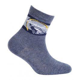 Chlapecké ponožky s obrázkem WOLA LEGENDARY modré Velikost: 24-26
