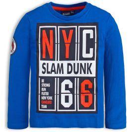 Chlapecké tričko CANGURO SLAM DUNK modré Velikost: 98