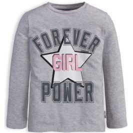 Dívčí tričko CANGURO FOREVER šedé Velikost: 98
