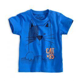 Dětské tričko LOSAN KOČKA modré Velikost: 68