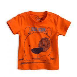 Chlapecké tričko LOSAN PEJSEK oranžové Velikost: 92