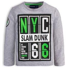 Chlapecké tričko CANGURO SLAM DUNK šedé Velikost: 98