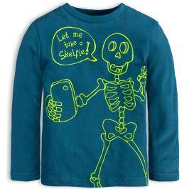 Chlapecké tričko KNOT SO BAD SKELFIE modré Velikost: 92