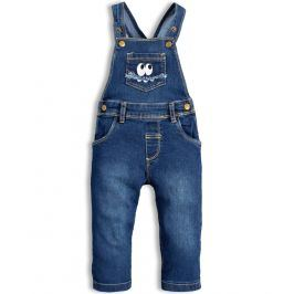 Dětské džíny s laclem KNOT SO BAD MONSTER modré Velikost: 62