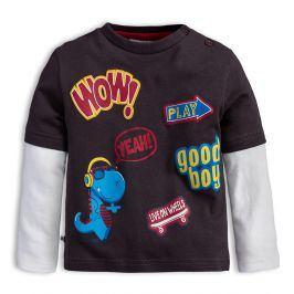 Dětské tričko Mix´nMATCH WOW tmavě šedé Velikost: 80