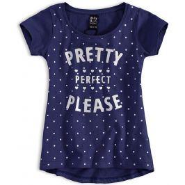 Dívčí tričko SILLY RIDICULOUS PRETTY modré Velikost: 176