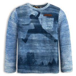 Chlapecké triko s dlouhým rukávem DIRKJE FREEWAY PARK modré Velikost: 92