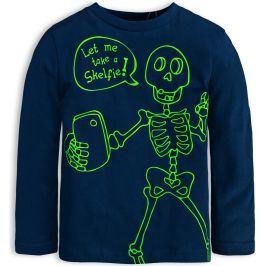 Chlapecké tričko KNOT SO BAD SKELFIE tmavě modré Velikost: 92