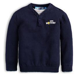 Chlapecký svetr KNOT SO BAD MINI MOTORS modrý Velikost: 62