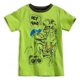Chlapecké tričko KNOT SO BAD DINO zelené Velikost: 92