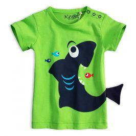 Dětské tričko KNOT SO BAD ŽRALOK zelené Velikost: 62