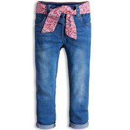 Dívčí kalhoty MINOTI PRETTY modré Velikost: 74-80