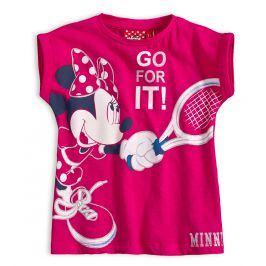 Dívčí tričko Disney MINNIE TENIS růžové Velikost: 98