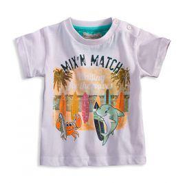 Dětské tričko Mix´nMATCH WAVES bílé Velikost: 86