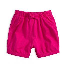 Dívčí bavlněné šortky KNOT SO BAD GIRLY PINK růžové Velikost: 62