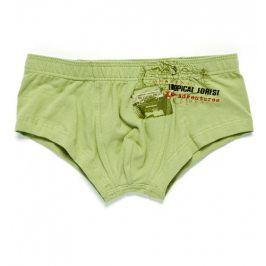 Chlapecké boxerky KEY TROPICAL FOREST zelené Velikost: 140